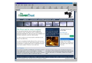 The Heaven Trust website